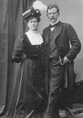 Ernst and Elisabeth Reifferscheid 1900