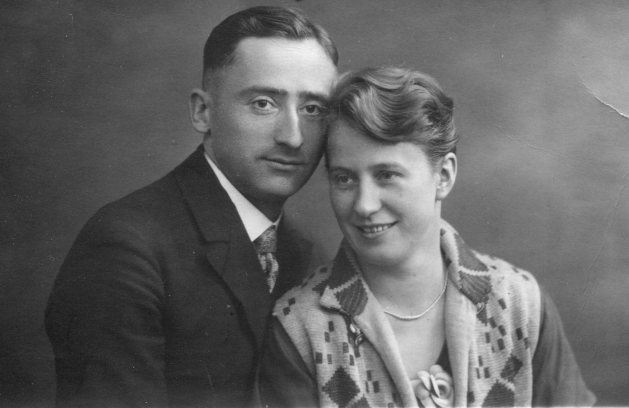 Walter and Elisabeth 1928