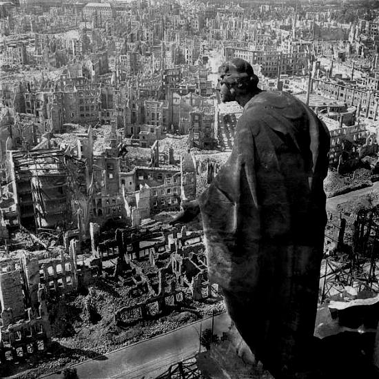 Dresden after the Devastating Bombing Raids