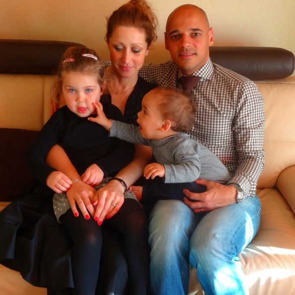 Johanna, Régis, Alice and Maxim