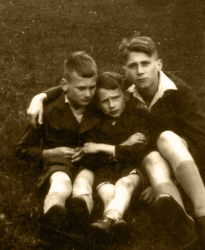 Adolf, Gerhard and Karl