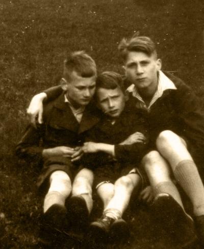Adolf, Gerhard and Karl