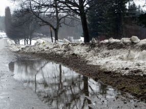 Winter in Rapid Retreat