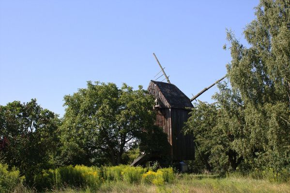 Windmill at Osterweddingen, Peter F. Klopp once worked