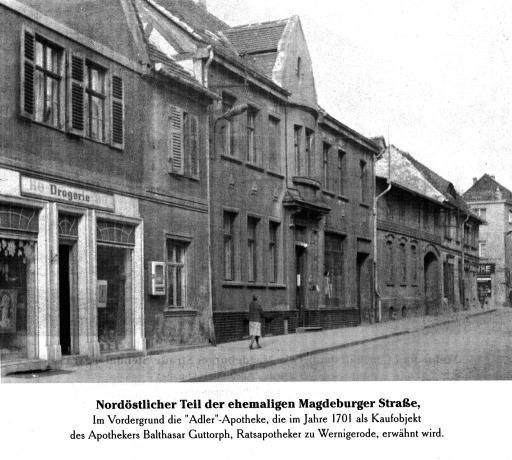 24 Magdeburger Straße Richtung Rathaus
