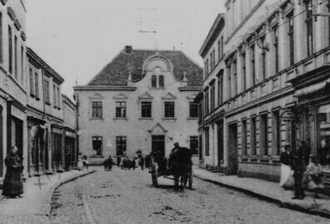 27 Rathaus von Stendaler Straße, heute Bebelstraße