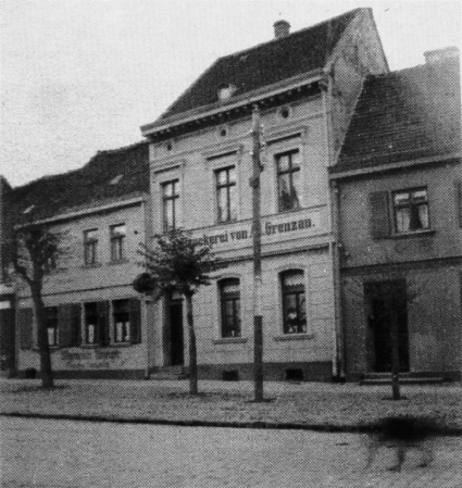 5 Druckerei Grenzau, links daneben Seilerei Klopp