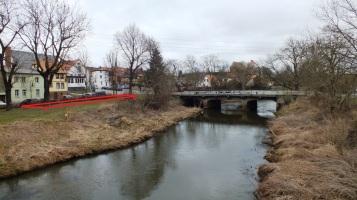 9 Magdeburger Brücke, wahrscheinlicher Standort der Seilbahn von Klopp's