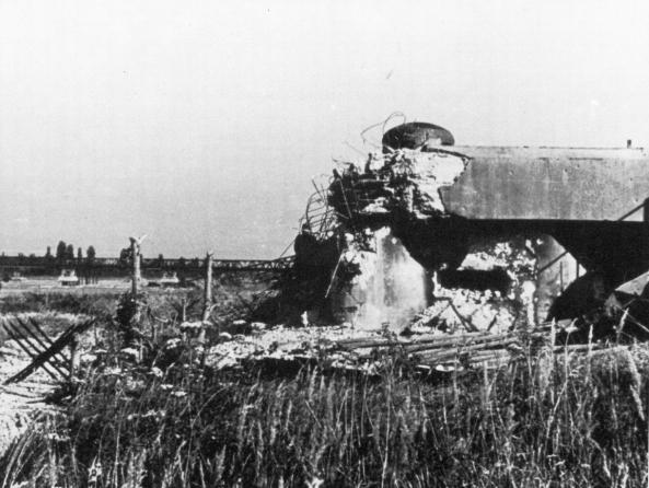 Göhri Zerstörter Bunker 1