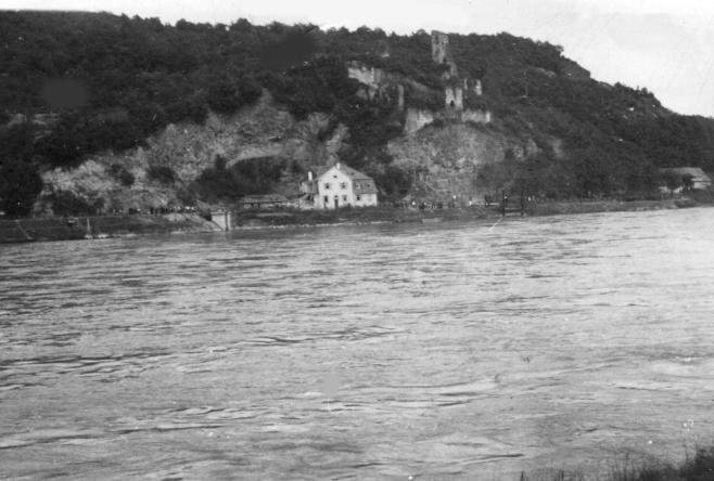 Barge: Rhein mit der Limburg