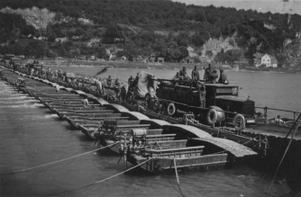 Barge : Flußüberquerung 806 Rolf