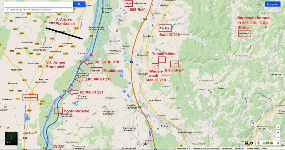 Übersicht Oberrhein
