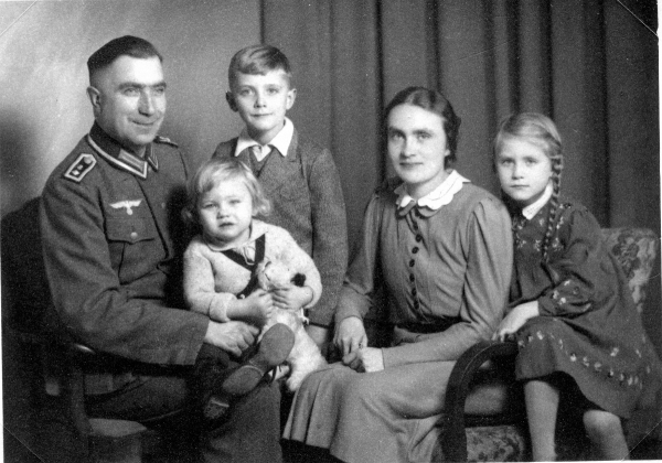 Bruno Kegler with his Family 1940