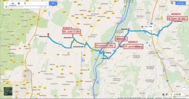 Bild 7 Route Bruno bis Illhäusern