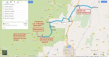 Bild 8 Route Bruno von Illhäusern nach Sigolsheim