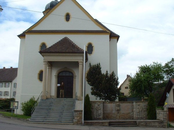 The Church in Rohrdorf in 2003 - Photo Credit: Stefan Klopp