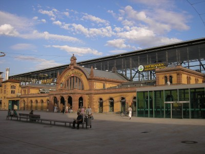 Railway Station Erfurt