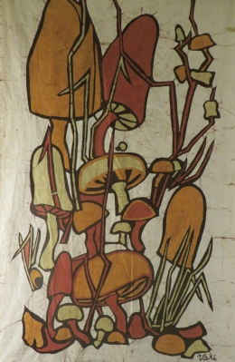 Batik Purchased by Gertrud Klopp - 1977