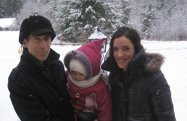 Azure and her Parents Dec. 2010