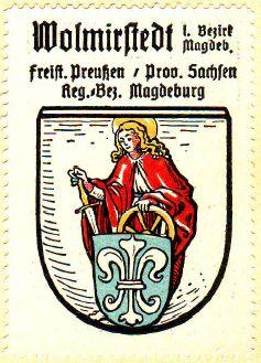 Heraldry of Wolmirstedt