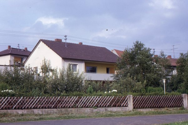The Rental House in Watzenborn-Steinberg (now Pohlheim)