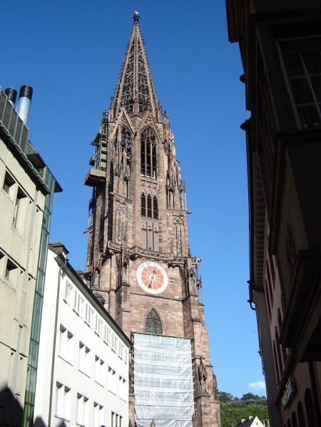 Freiburg Cathedral - Photo Credit: wikipedia.org