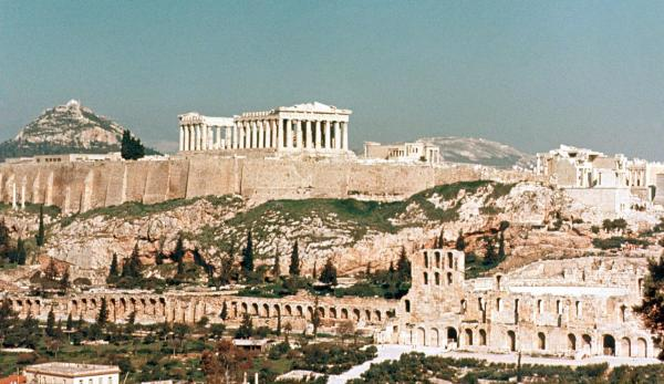 The Acropolis Hill - Photo Credit: wikipedia.org