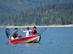 Azure and Mateo Fishing