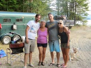 Stefan, Biene, Michael, Angie