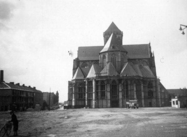 Willibrordi Cathedral at Wesel 1956