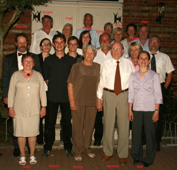160th Combined Birthday of Hartmut and Gisela Kegler