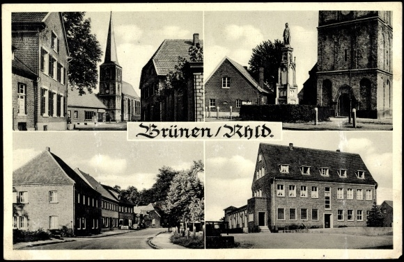 Post Card of Brünen near Wesel