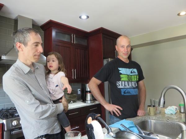 Richard, Emeline, and Michael
