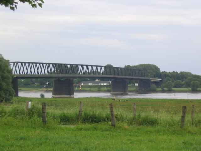 Bridge over the River Rhine - Photo Credit: bicyclegermany.com