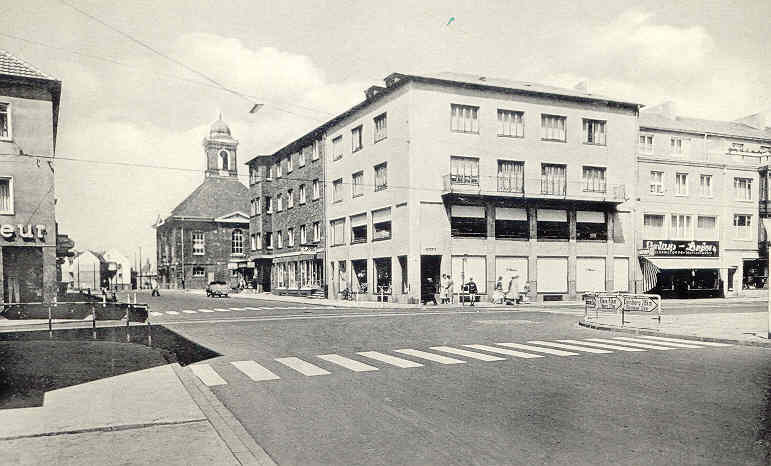 Downtown Wesel in the early 1960's