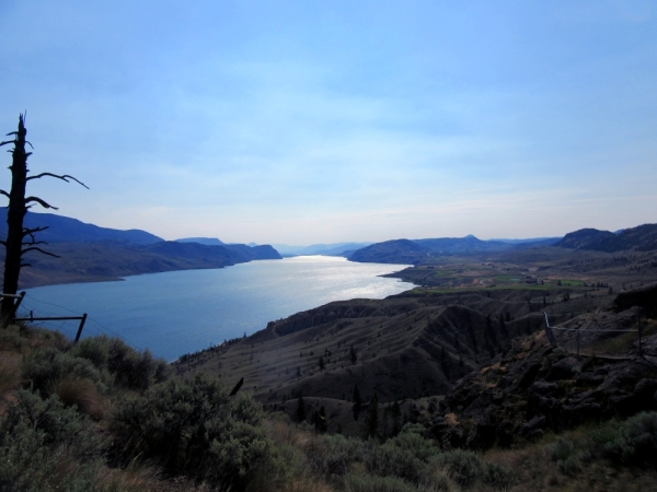 Kamloops Lake as seen from Transcanada Highway