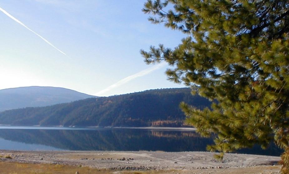 The Arrow Lake Inviting to a Canoe Ride