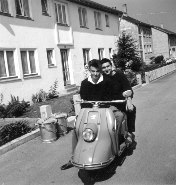 Klaus and Peter on the Way to former Yugoslavia