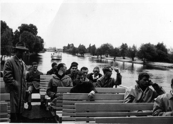 Boat Ride in Berlin