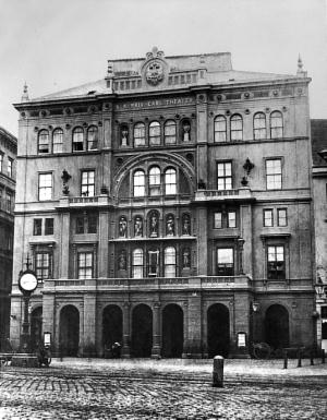 The Carl Theatre where Artists and Performers met around 1900 - Photo Credit: aeiou.at