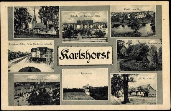 Berlin-Karlshorst (Old Postcard) - Photo Credit: akpool.de
