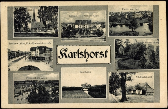 Berlin-Karlshorst (Old Postcard) - Photo Credit: akpool.de