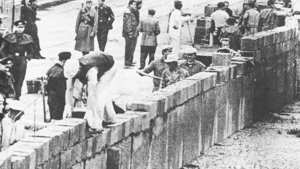The Building of the Berlin Wall August 13, 1961