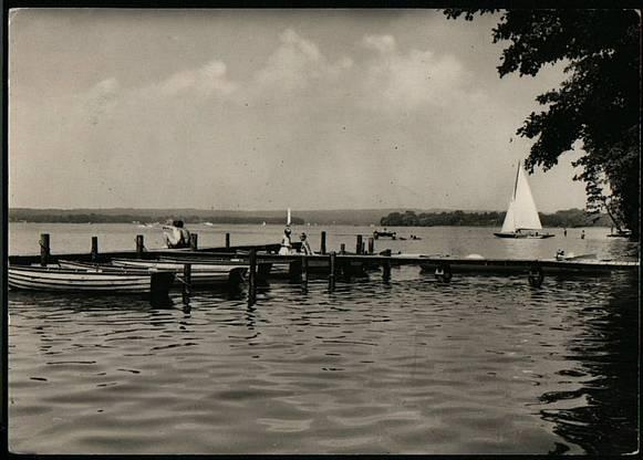 Scharmützel Lake in the 1920's