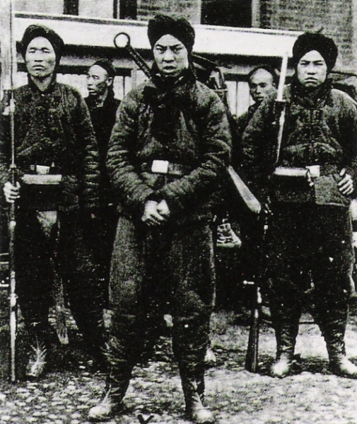 'Boxer' Soldiers - Photo Credit: wikipedia