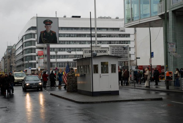 Checkpoint Charlie Border Crossing; Photo Credit: gonback.com