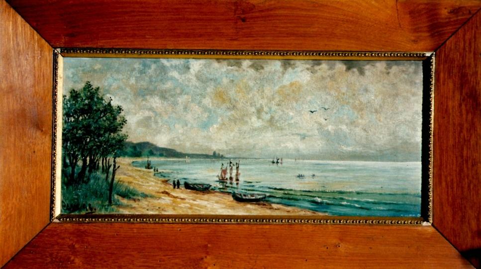 Juliana's Painting of the Baltic Sea