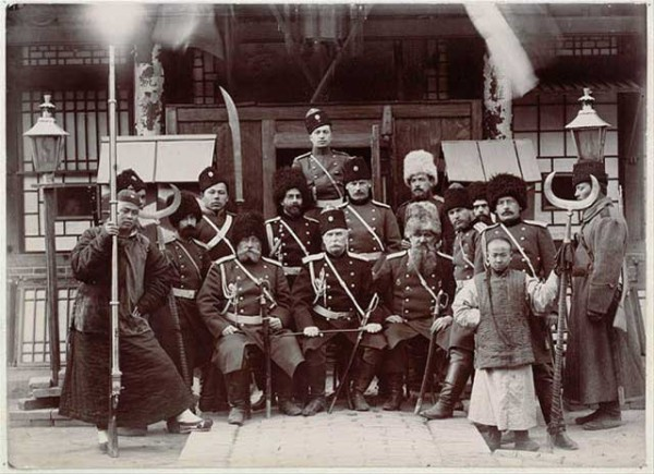 Russian officers in Manchuria during the Boxer Rebellion - Photo Credit: wikipedia.org