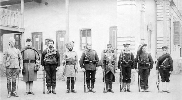 Solders of the Eight Nation Alliance - Photo Credit: warfarehistorian.blogspot.com