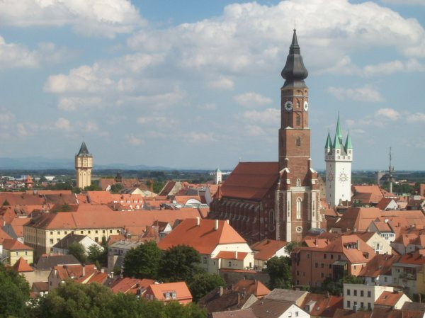 City View of Straubing, Germany - Photo Credit: wikipedia.org